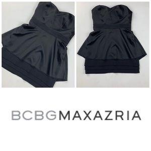BCBG Balck Strapless Dress 👗